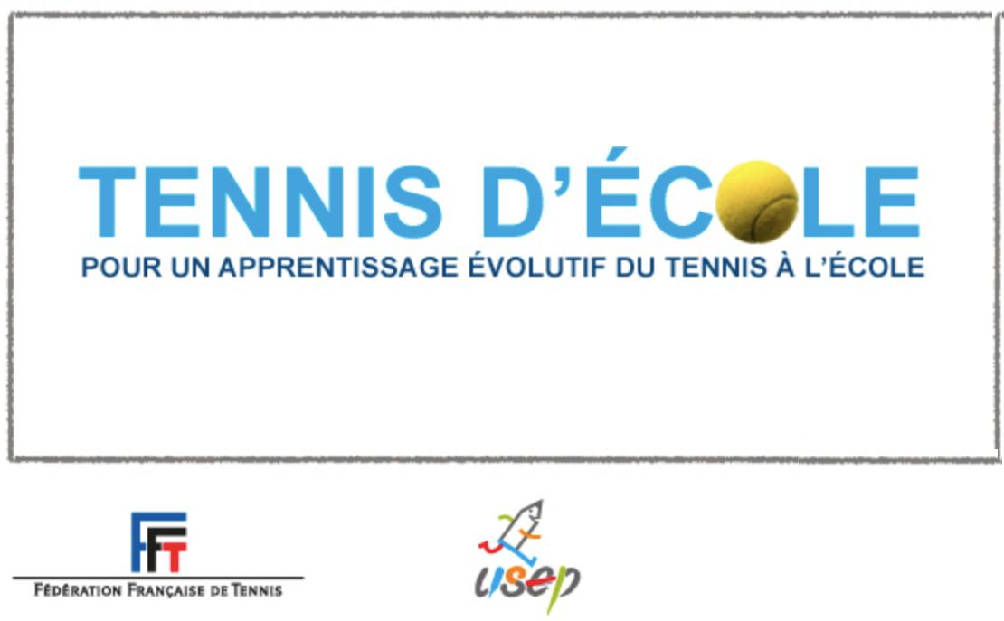 Tennis d'école : pour un apprentissage évolutif du tennis